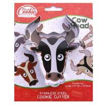 Cow Head Cookie Cutter- Stainless Steel