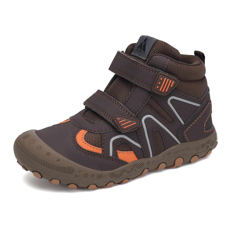 Mishansha Boy's Girl's Hiking Boots Anti-Slip Water Resistant Sneaker Kids Running Walking Shoes