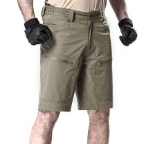 FREE SOLDIER Men's Quick Dry Cargo Shorts Lightweight Tactical Shorts for Hiking