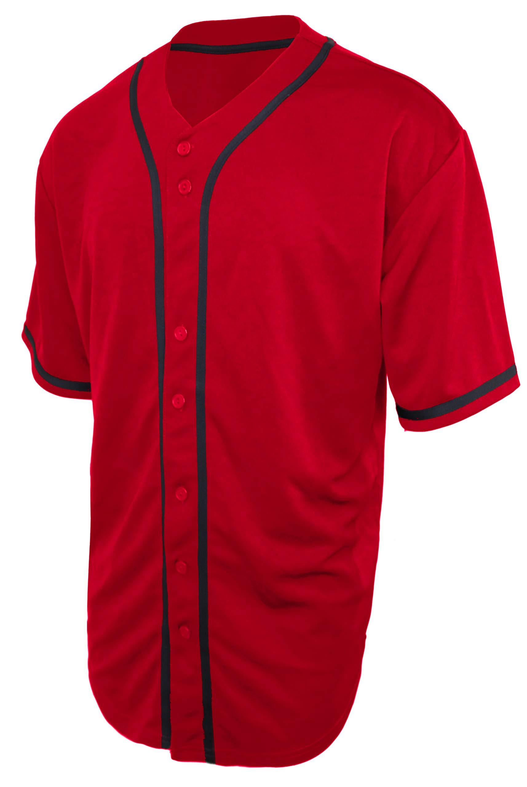 OLLIE ARNES Baseball Jersey, Hip-Hop Shirt Button Down Team Uniform Men Youth Toddler Sizes
