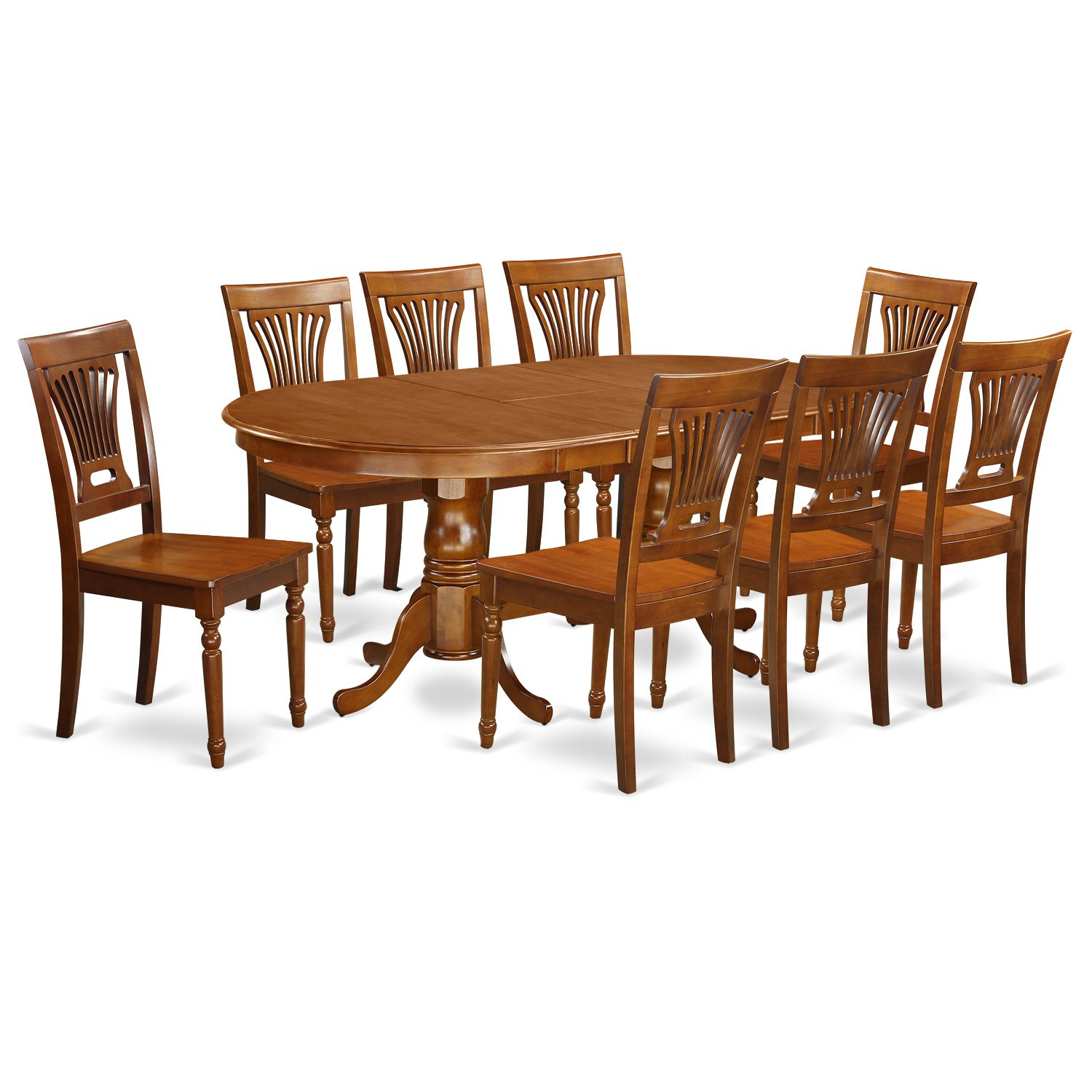 9 PC Dining room set for 8-Dining Table and 8 Dining Chairs