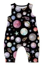 UNICOMIDEA Baby Summer Outfits Toddlers Sleeveless Rompers for 3-24 Months