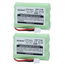 BAOBIAN 3.6V 900mAh Ni-MH Baby Monitor Battery Replacement Compatible Motorola MBP36 MBP36PU MBP27T MBP33 MBP33S MBP-33S MBP33PU MBP33BU MBP33P MBP35 MBP41 MBP43 MBP18 CB94-01A(2-Pack)
