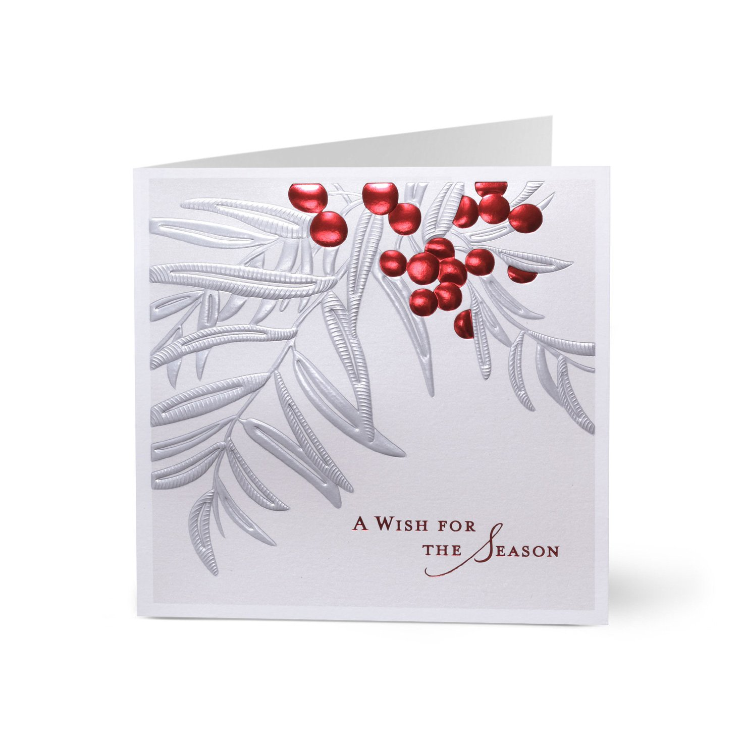 Hallmark Business Holiday Card for Customers (Holiday Elegance) (Pack of 25 Greeting Cards)
