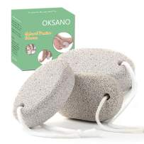 OKSANO Pumice Stone 3PCS, Nutural Pumice Stone for Feet, Foot Skin Pumice Stone Toilet Bowl Cleaning, Scrubber Pedicure Tools, Exfoliation to Remove Dead Skin