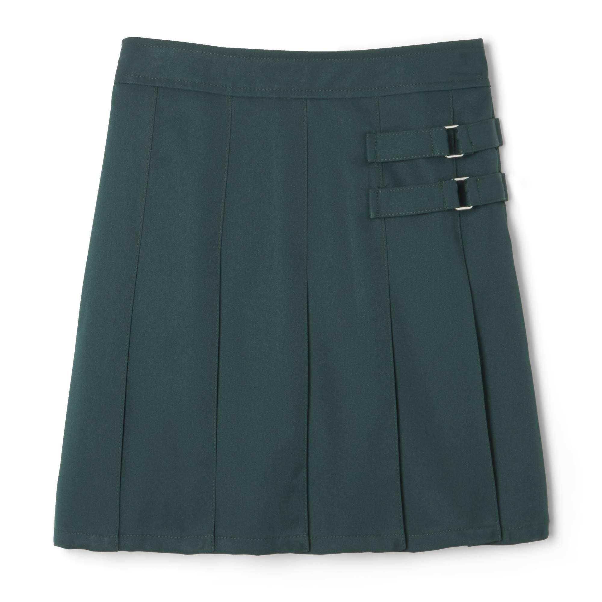 French Toast Girls Two-Tab Pleated Scooter Skirt