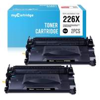 myCartridge Compatible Toner Cartridge Replacement for HP 26X CF226X 26A CF226A (Black, 2-Pack)