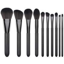 Makeup Brushes Set, Luxspire 8PCS Professional Make Up Brushes, Premium Fiber Wood Cosmetic Powder Foundation Eyeshadow Lip, Blush Bronzer, Contouring Blending, Brush Make Up Tool