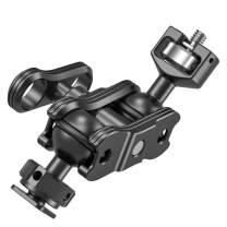 SMALLRIG Magic Arm with Double Ballheads (1/4 Screw and Cold Shoe) KBUM2394