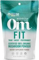 Om Organic Mushroom Nutrition Fit Matrix with Cordyceps & Reishi, 3.57 Ounce