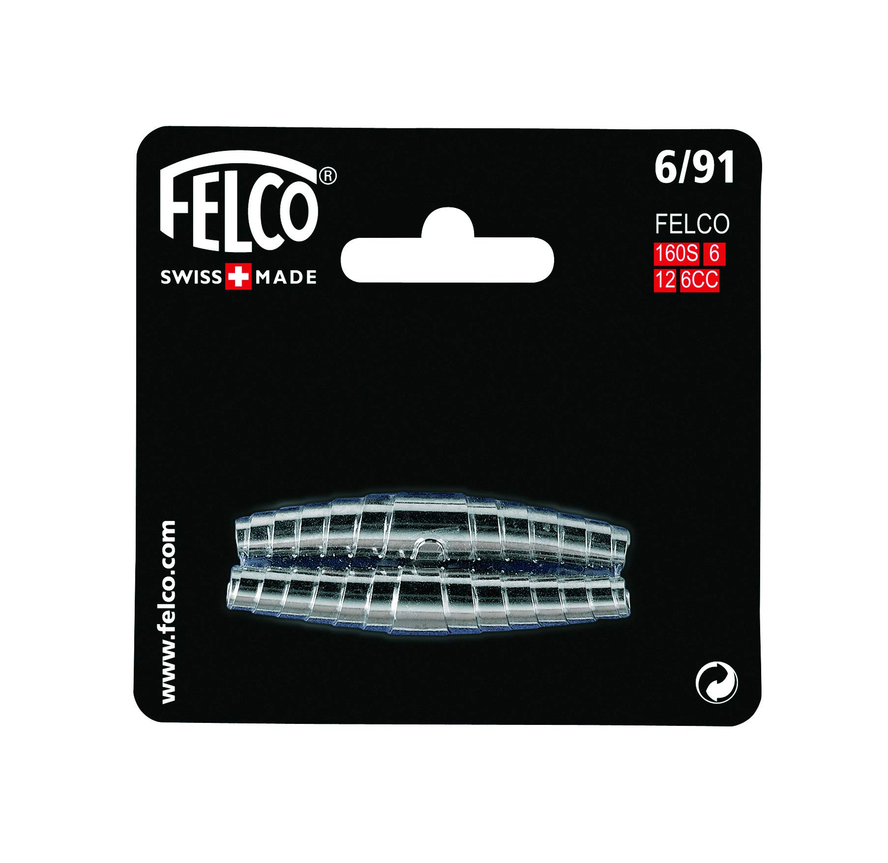 Felco Pruner Replacement Springs (6/91) - Spare Nickel Plated Spring for Gardening Shears, Scissors, & Clippers (2-Pack) - 33390