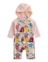 VAENAIT BABY 0-24M Baby Girls UPF 50+ Protection Rashguard Swimwear Sunsuit One Piece Baby