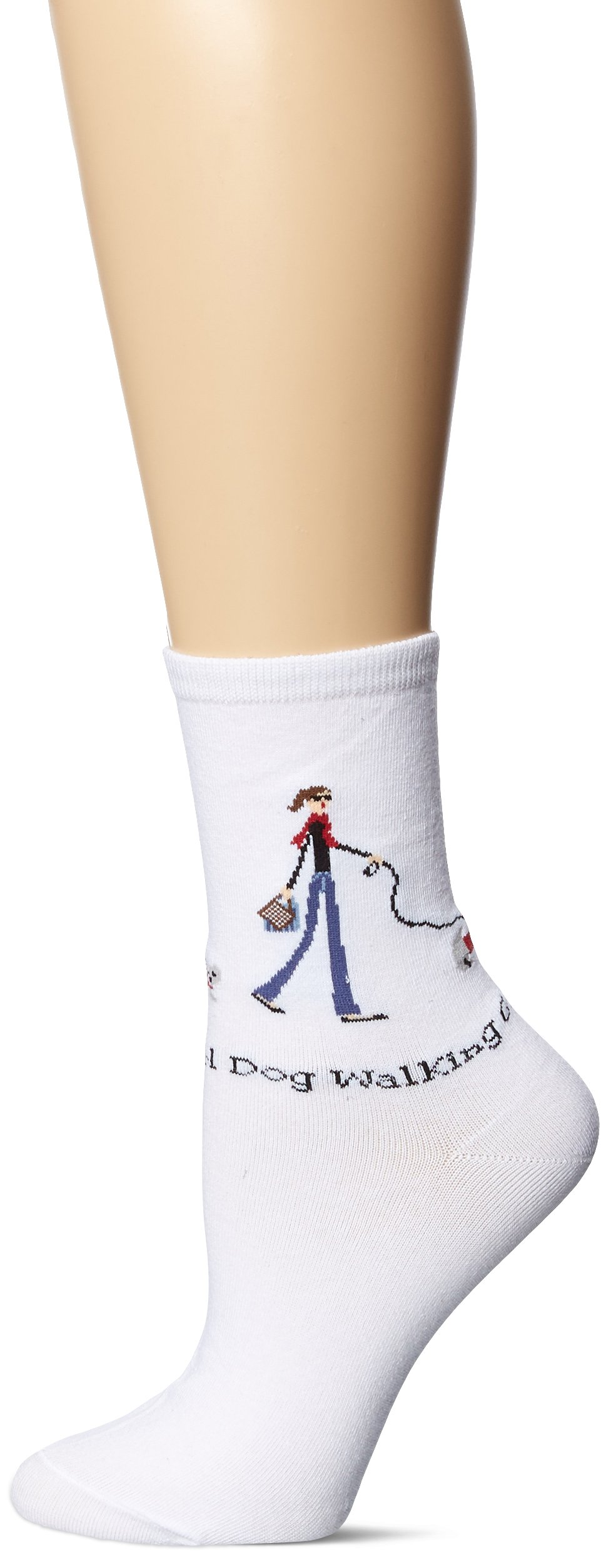 K. Bell Women's Novelty Girl Power Socks