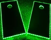 GlowCity LED Cornhole Board Lights Ultra Bright Lights for Corn Hole and Board, Fits 2 x Boards – Waterproof and Durable Cable Ideal for Family Outdoor Games or Backyard Glow in The Dark