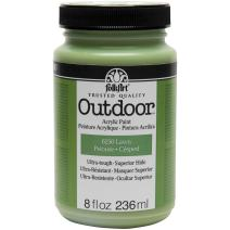 FolkArt Outdoor Paint in Assorted Colors (8 oz), 6250 Lawn