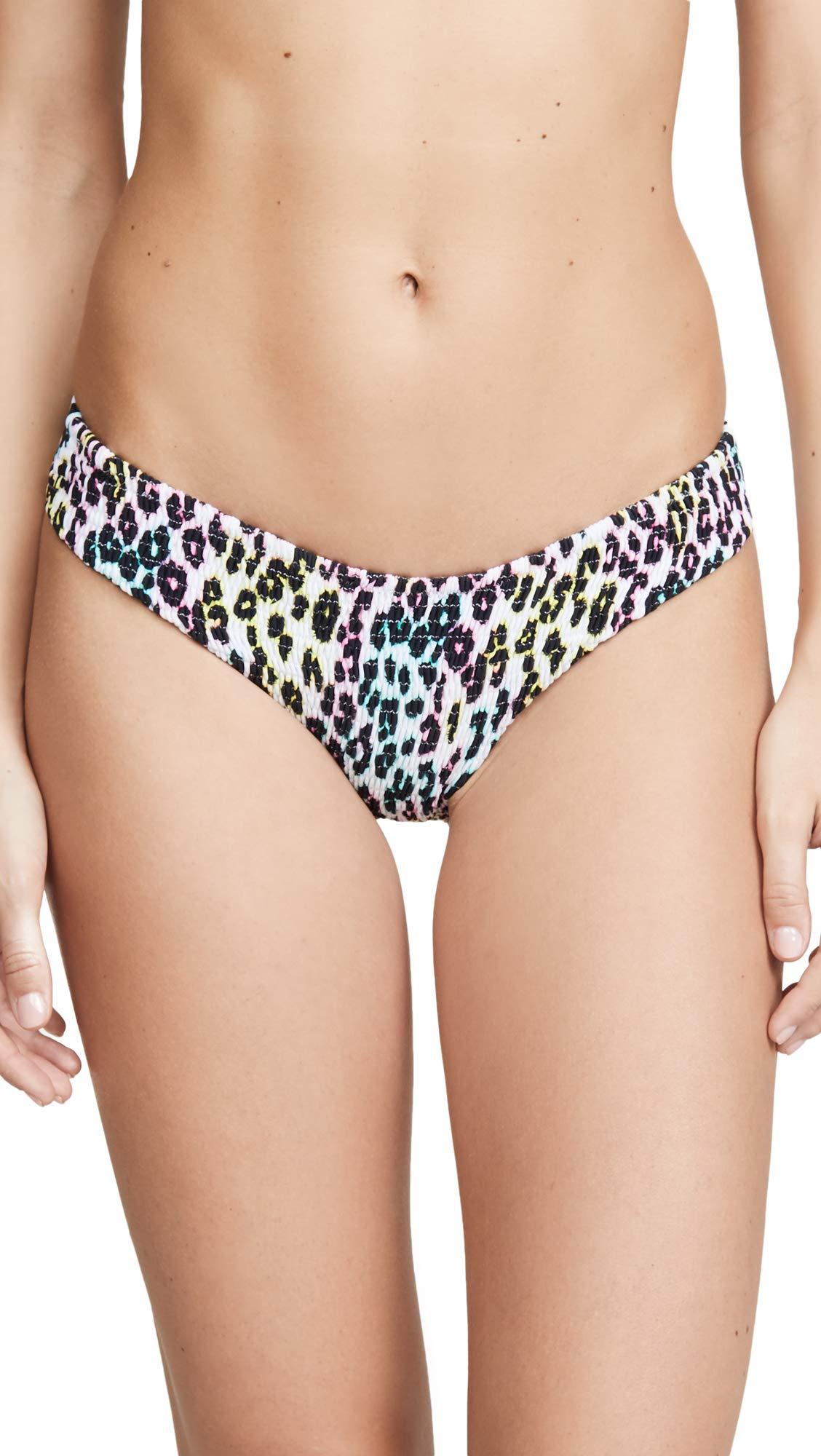 Peixoto Women's Cayo Smocked Full Bikini Bottoms