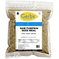 GERBS Ground Pumpkin Seed Meal, 32 ounce Bag, Top 14 Food Allergy Free, Non GMO, Vegan, Keto, Paleo Friendly