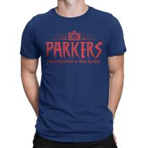 Spider Man t Shirt -Inspired Parkers Photography tee Shirt Homecoming End Game Blue