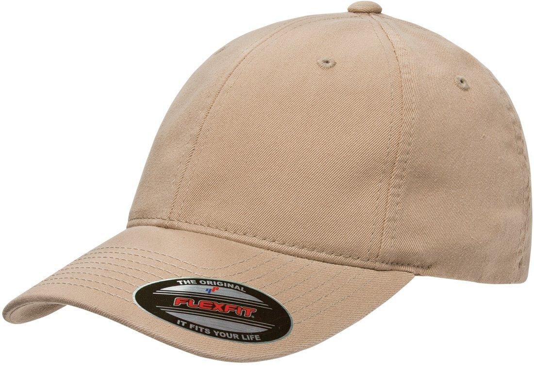 Flexfit Low-Profile Soft-Structured Garment Washed Cap w/THP No Sweat Headliner Bundle Pack