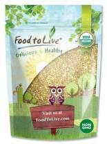 Organic Buckwheat Groats, 8 Ounces - Hulled, Non-GMO, Kosher, Raw, Vegan, Bulk