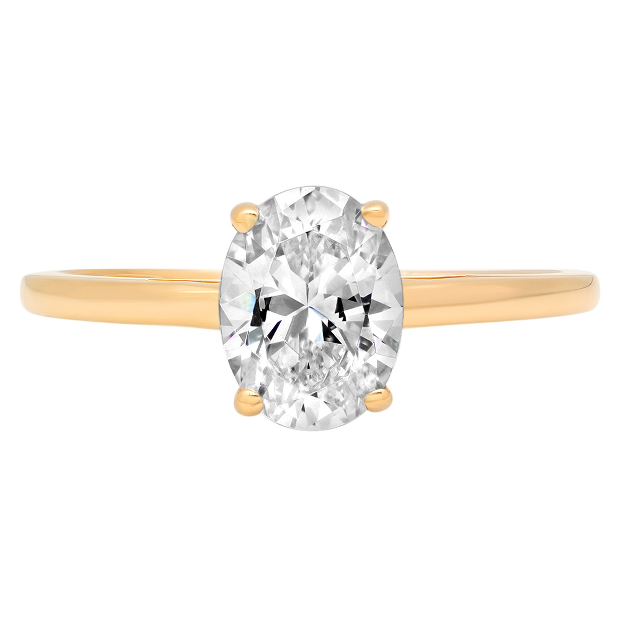 1.70 Ct Moissanite Heart Cut Solitaire Bridal Engagement Promise Wedding Statement Anniversary Ring Solid 14k Yellow Gold