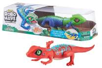 Robo Alive Lurking Lizard Battery-Powered Robotic Toy (Green + Blue) by ZURU
