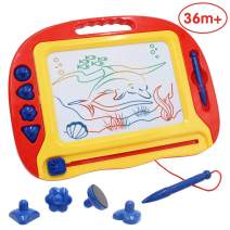ANIKI TOYS Magnetic Drawing Board,Erasable Colorful Doodle Scribble Boards Educational Toys to Draw on Magic Sketch Board