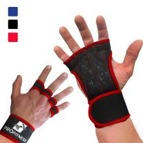 ProFitness Cross Training Gloves Non-Slip Palm Silicone Weight Lifting Glove to Avoid Calluses | Perfect for WODs & Weightlifting | with Wrist Wrap Support, Ideal for Both Men & Women