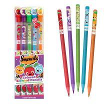 Scentco Colored Smencils - Scented Coloring Pencils, 5 Count