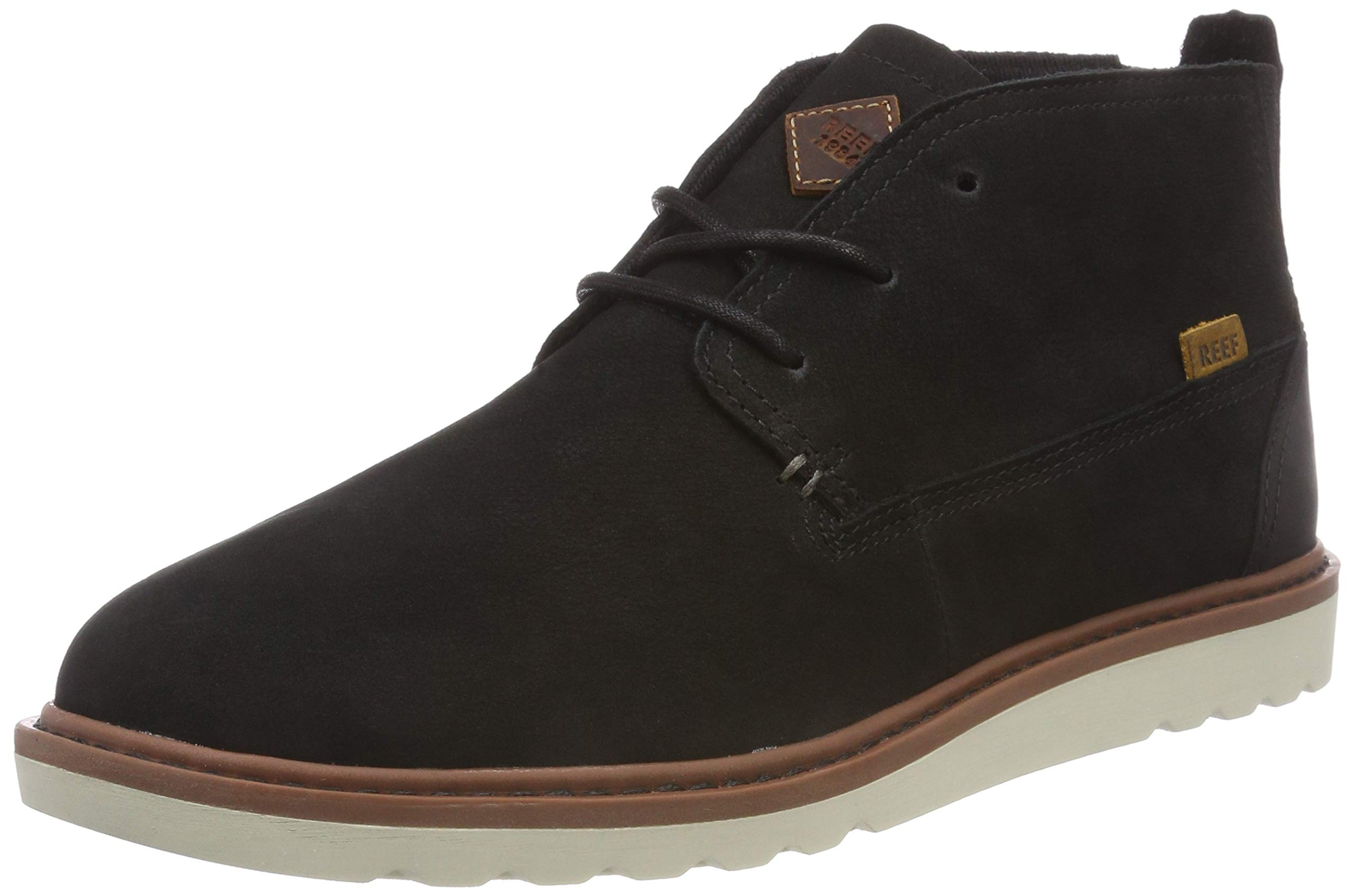 Reef Men's Voyage Boot Shoes, Black/Natural