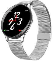 Yihou Smart Watch Android Blood Pressure Fitness Tracker Heart Rate Blood Oxygen Activity Tracker Pedometer Calorie Sleep Monitor Touchscreen Smartwatch for Women Men