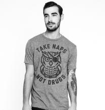 Buy Me Brunch Men's Take Naps Not Drugs T-Shirt