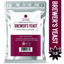 Brewer's Yeast Powder, 1Lb, Yeast for Breastfeeding Mothers, Baking, Gluten-free, non-GMO, Unflavored
