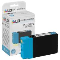 LD Compatible Ink Cartridge Replacement for Canon PGI-1200XL 9196B001 High Yield (Cyan)
