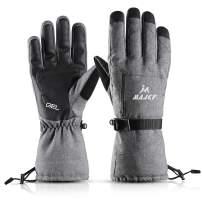 MAJCF Ski Gloves - Winter Warm 3M Insulation Waterproof Touchscreen Thermal Gloves
