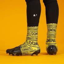 Dominate Yellow Spats/Cleat Covers