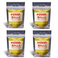 Paleo Angel Power Balls Healthy Paleo Approved Gluten Free AIP Protein Snack Bars (Matcha Green Tea Latte 4-Pack)