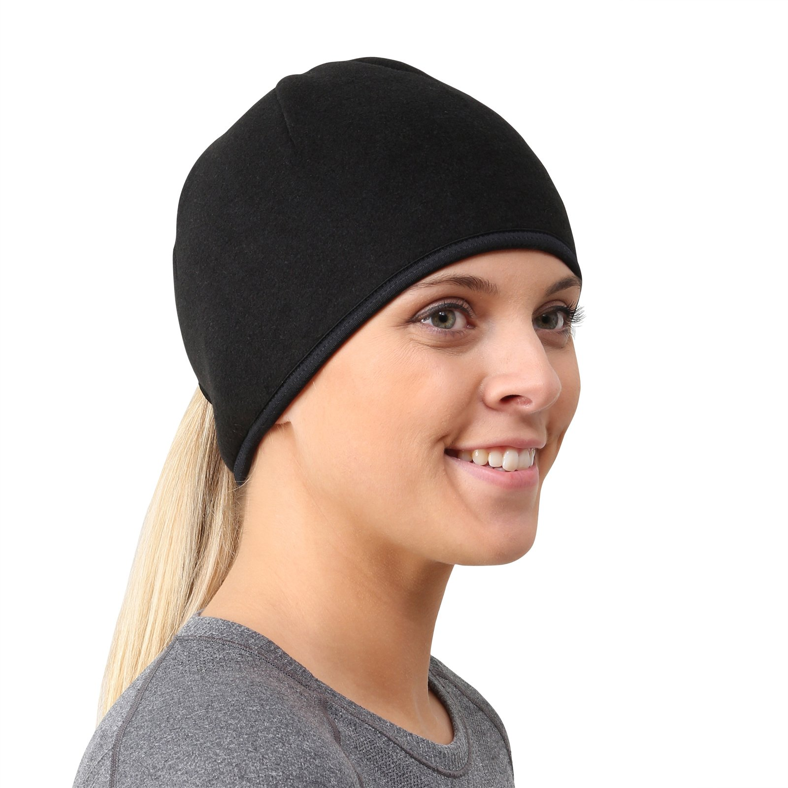 TrailHeads Women's Ponytail Hat | Runner's Beanie