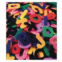 """S&S Worldwide Felt Adhesive Letters, 1"""" (pack of 500)"""