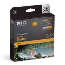 RIO Products Fly Line Intouch Switch Chucker #4, Gray-Orange-Green