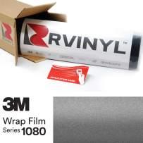3M 1080 M261 Matte Dark Gray 5ft x 5ft W/Application Card Vinyl Vehicle Car Wrap Film Sheet Roll
