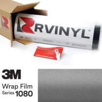 3M 1080 M261 Matte Dark Gray 5ft x 5ft W/Application Card Vinyl Vehicle Car Wrap Film Sheet Roll