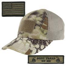 Gadsden and Culpeper Kryptek-Highlander Tactical Patch & Hat Bundle (2 Patches + Hat)