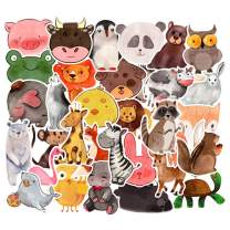 Vinyl VSCO Girls Stickers Hydro Flask Waterproof Skateboard Stickers for Water Bottle DIY Xmas Decoration Laptop Decals Gift Card Luggage Car Bicycle Music Film Guitar Travel Case Animals 50Pack
