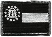 Tactical State Patch - Georgia - Black
