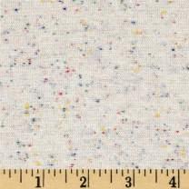 Robert Kaufman Kaufman Speckle Jersey Knit Natural Fabric by the Yard