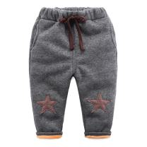 Mud Kingdom Little Boys Super Warm Star Fleece Pants