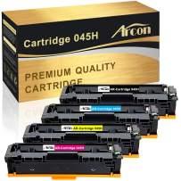 Arcon Compatible Toner Cartridge Replacement for Canon 045 045H CRG-045H CRG-045 Color ImageCLASS MF634Cdw MF632Cdw LBP612Cdw Canon MF634Cdw MF632Cdw LBP612Cdw MF632 MF634 Laser Printer Toner-4 Packs