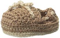 Jefferies Socks Baby Boys' Boat Shoe Crochet Bootie