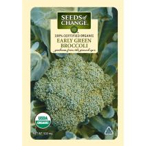Seeds of Change Certified Organic Early Green Broccoli